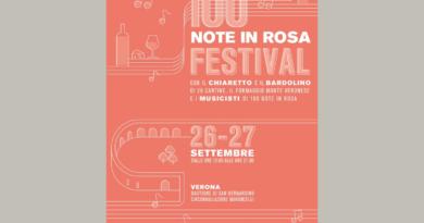 100 note in rosa, a Verona evento settembre 2020